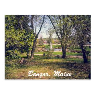 Carte postale de Bangor Maine