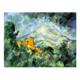 Carte postale de beaux-arts de Cezanne