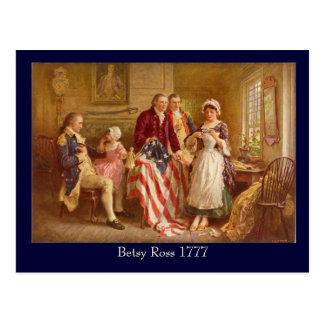 Carte postale de Betsy Ross