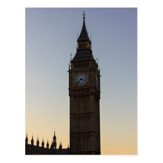 Carte postale de Big Ben Londres