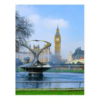 Carte postale de Big Ben Londres Westminster R-U
