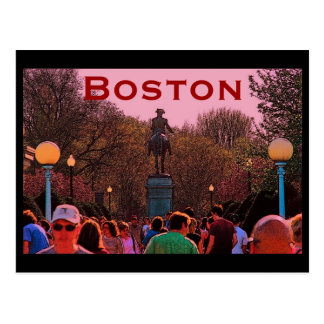 Carte postale de Boston