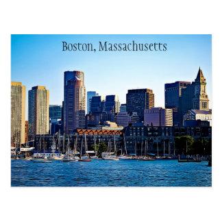Carte postale de Boston, le Massachusetts
