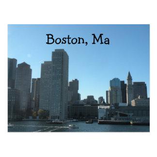 Carte postale de Boston mA
