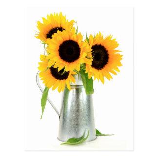 Carte postale de bouquet de tournesols