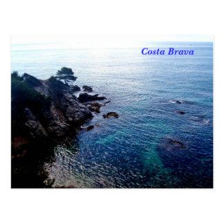 Carte postale de Brava de côte