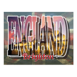Carte postale de Brighton, Angleterre
