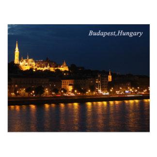 Carte postale de Budapest, Hongrie