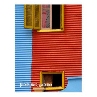 Carte postale de Buenos Aires Argentine