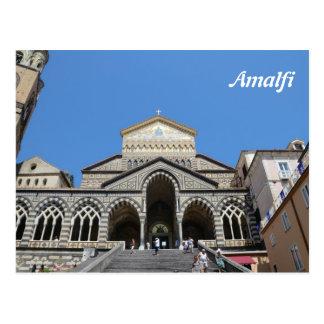 Carte postale de calendrier d'Amalfi 2014