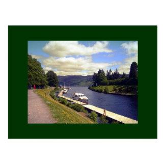 Carte postale de canal