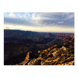 Carte postale de canyon grand