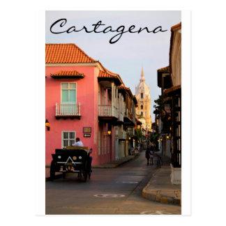 Carte postale de Carthagène