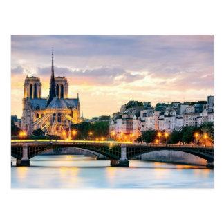 Carte postale de cathédrale de Notre-Dame