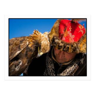 Carte postale de chasseur d'Eagle