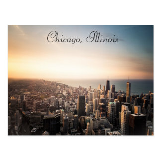 Carte postale de Chicago, l'Illinois