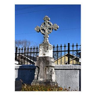 Carte postale de cimetière de Galveston