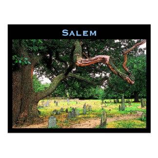 Carte postale de cimetière de Salem