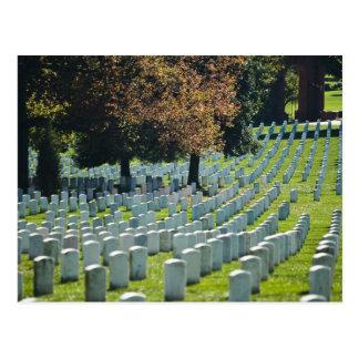 Carte postale de cimetière national d'Arlington