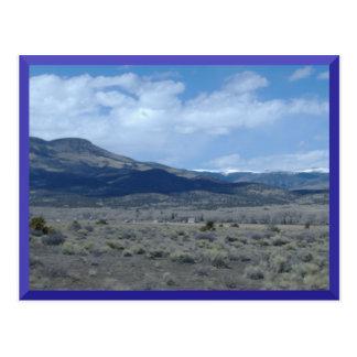 Carte postale de collines du Colorado