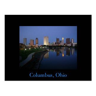 Carte postale de Columbus Ohio