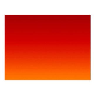 Carte Postale ~ de COUCHER DU SOLEIL (la couleur jaune-orange de