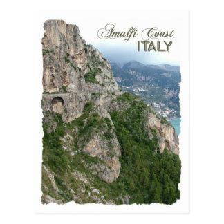 Carte postale de coutume de côte d'Amalfi