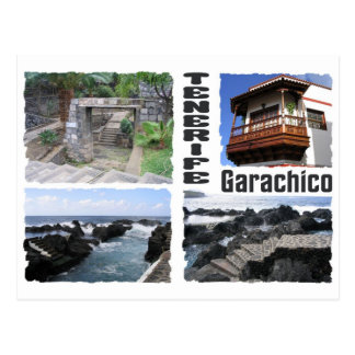 Carte postale de coutume de Garachico, Ténérife