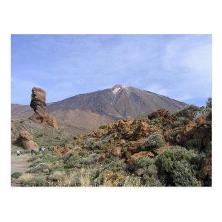 Carte postale de coutume d'EL Teide