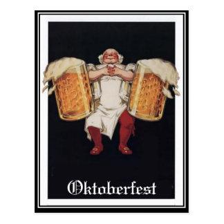 Carte postale de cru d'Oktoberfest