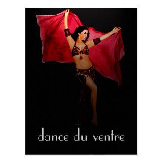 carte postale de danse du ventre