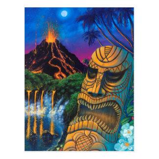 Carte postale de Dieu de Tiki