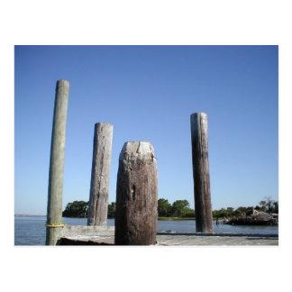 Carte postale de dock d'île de Smith