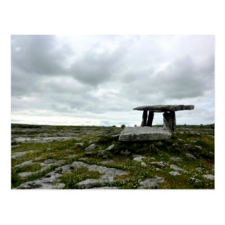 Carte postale de dolmen de Poulnabrone