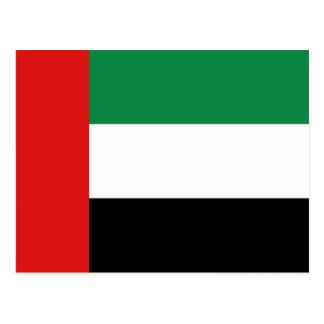 Carte postale de drapeau des EAU