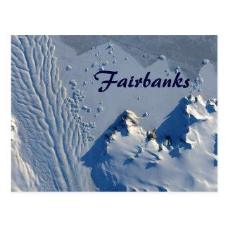 Carte postale de Fairbanks Alaska