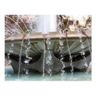Carte postale de fontaine de Los Angeles