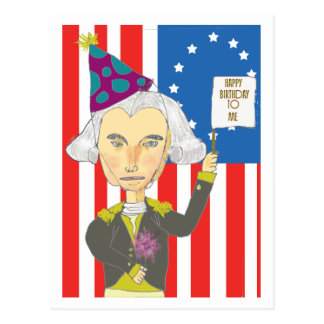 Carte postale de George Washington