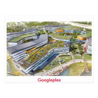 Carte postale de Googleplex