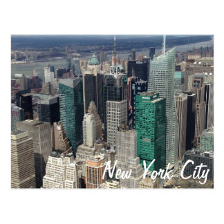 Carte postale de gratte-ciel de New York City