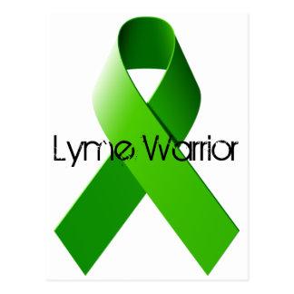 Carte postale de guerrier de Lyme