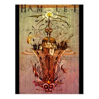 "Carte postale de ""Hamlet"""