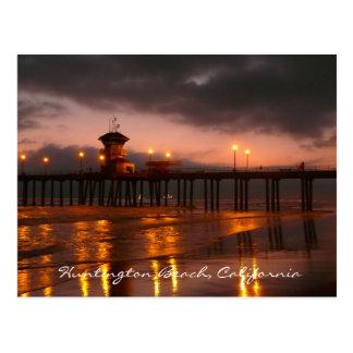 Carte postale de Huntington Beach, la Californie