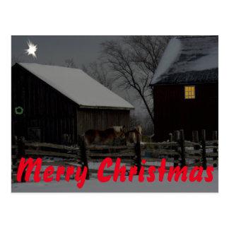 Carte postale de Joyeux Noël