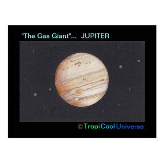 Carte postale de JUPITER de planète