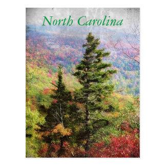 Carte postale de la Caroline du Nord