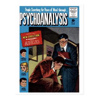 Carte postale de la question #2 de psychanalyse
