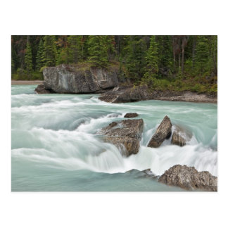 Carte postale de la rivière canadienne