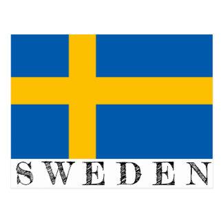 Carte postale de la Suède