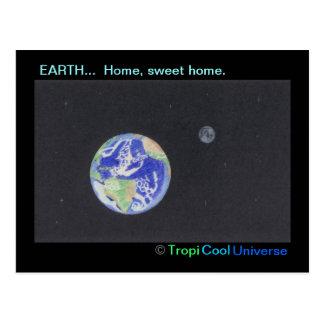 Carte postale de la TERRE de planète
